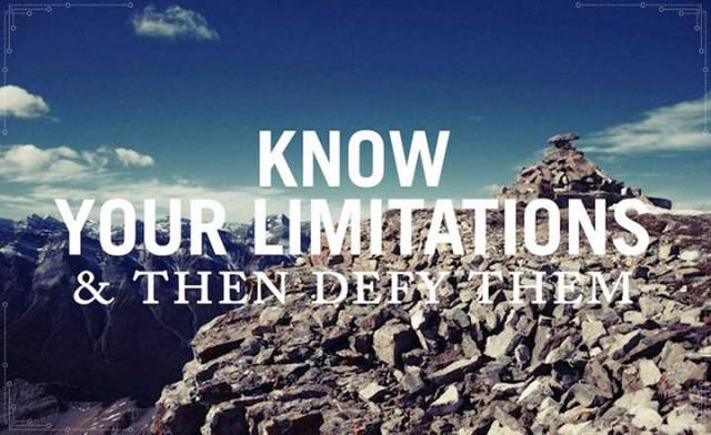 defylimitations