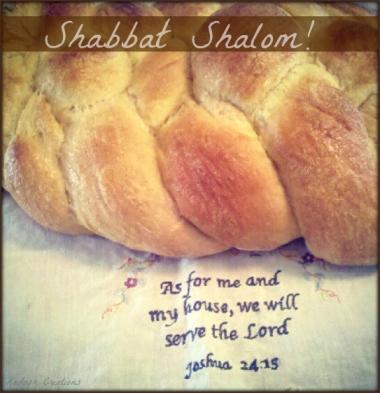 Shabbat Shalom challah!